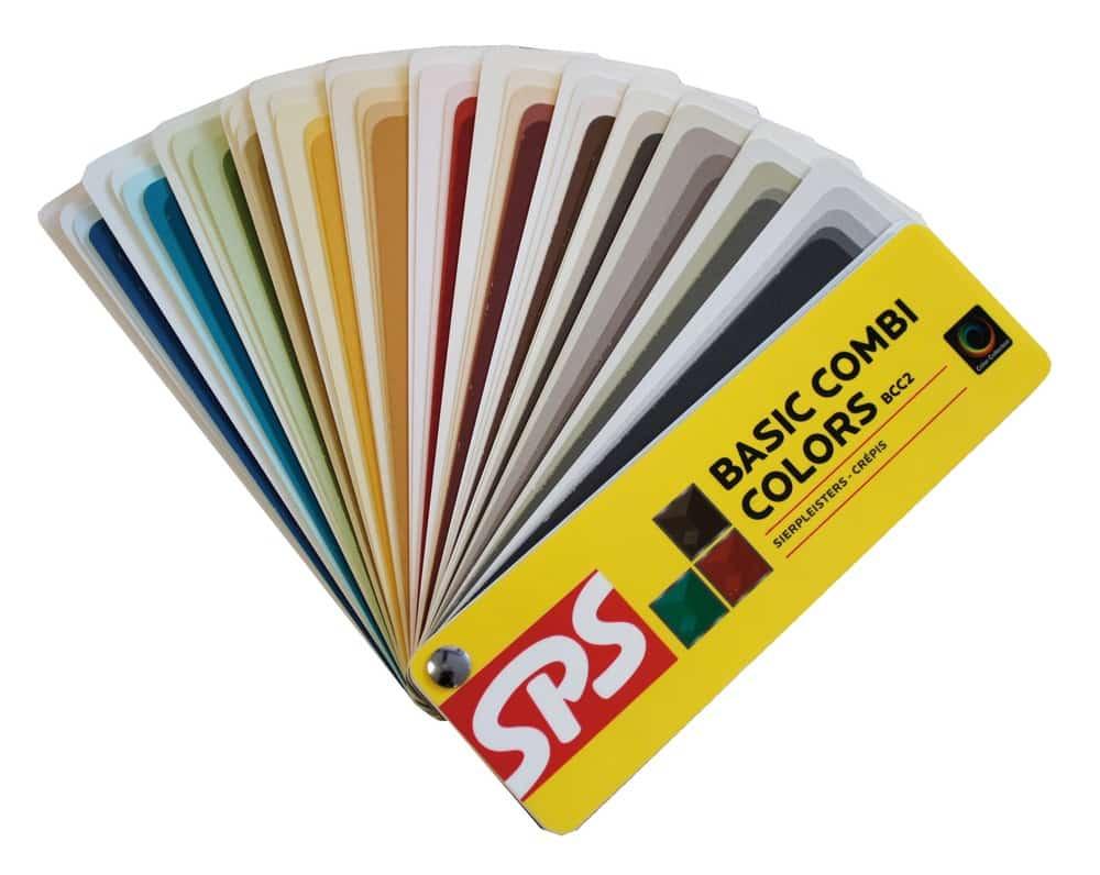 kleuren sierpleister